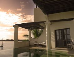 Sunset in Beach House, Shela, Lamu Island