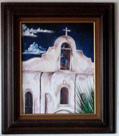Art by Ramiro Ordonez, Acrylic painting