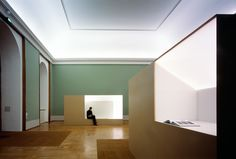 Staab Architecten, renovation of the Alte Pinakothek in Munchen. Love the sharpness of the elements.