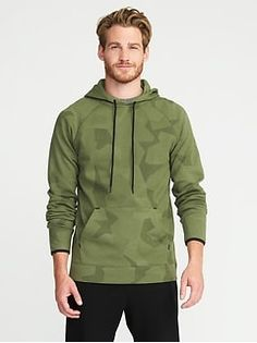 Old Navy Go-Dry Performance Hoodie for Men Mens Activewear, Shop Old Navy, Camo Print, Hooded Jacket, Active Wear, Hoodies, Jackets, Fashion, Jacket With Hoodie