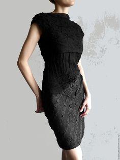 """Платья ручной работы. Ярмарка Мастеров - ручная работа. Купить Платье """"Ночь"""". Handmade. Черный, маленькое черное платье"""