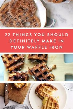 22 Things You Can Make in Your Waffle Iron via @PureWow