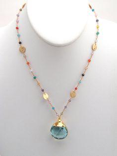 Multi Colored Cubic Zirconia Rosary von BellaBeadsOriginals auf Etsy, $75,00