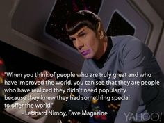 Read Leonard Nimoy's 1968 Words of Wisdom to a Mixed-Race Teen | Yahoo Celebrity - Yahoo Celebrity