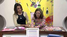 Mulher.com 16/07/2013 Rosana Pardo - Porta tesoura bordado Parte 2/2 - YouTube