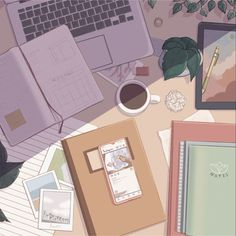 Cute Pastel Wallpaper, Anime Scenery Wallpaper, Cute Anime Wallpaper, Wallpaper Iphone Cute, Cute Cartoon Wallpapers, Animes Wallpapers, Aesthetic Backgrounds, Aesthetic Wallpapers, Aesthetic Art