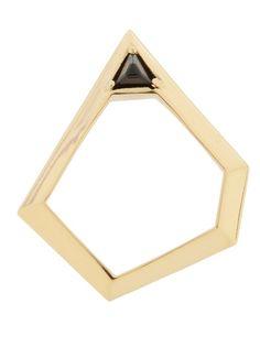 ELYONA - Pentagonal Ring With Swarovski