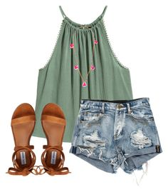 """"""""""" by emi-elephant ❤ liked on Polyvore featuring Lead and Steve Madden"""