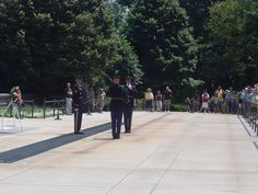 Changing of the Guard at the Tomb of the Unknowns