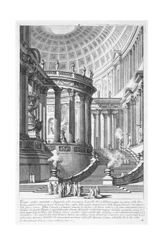 Ancient Temple Lacma Collections - Ancient Temple Giovanni Battista Piranesi Italy Mogliano Italy Circa Prints Etching With Engraving And Drypoint Architecture Temple, Architecture Baroque, Classic Architecture, Architecture Drawings, Ancient Architecture, Architecture Details, Landscape Architecture, Ancient Rome, Ancient Greece