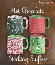 Looking for a unique, easy stocking stuffer for your neighbor, friends, classmates, teachers, mailman, or anyone else that you can think of? I bet theyve never gotten hot cocoa in a paper mug before!  Pick your flavor(s) from the drop down menu on the right, and well insert it into one of our adorable mugs! Need multiple flavors? Just add the quantity of each flavor to your cart.  Paper choices arent guaranteed, and may differ from the photo. If you have a particular color scheme that youd…