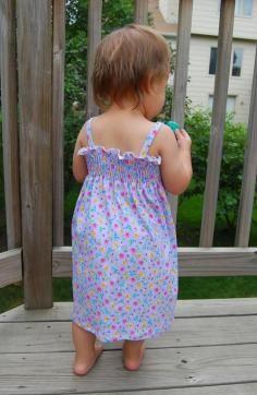 DIY Baby Girl Dress - Bead&Cord