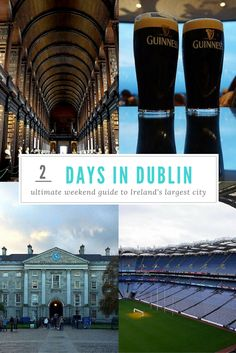 Dublin has so much to see and do! This 2 day Dublin itinerary will make sure you see all the highlights in a short amount of time.