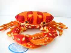 """24.8""""/63cm Cute Simulation Sea Crab Stuffed & Plush Animal Toy Pillow Cushion-in Stuffed & Plush Animals from Toys & Hobbies on Aliexpress.com 