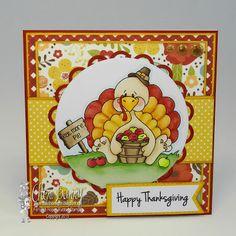 """High Hopes Stamps: Tommy Turkey! by Cheri using """"Tommy Turkey"""" (TT045)"""