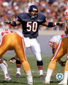 Mike Singletary with the D call