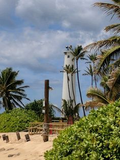 Lighthouse on Oahu