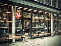 Fuglen - coffee during the day/speakeasy cocktail bar @ night + vintage furniture shop