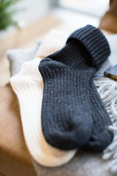Gotta keep your feet warm, just in case they stick out from under your Doubleknot. Naughty Or Nice List, Muck Boot Company, Clothing Photography, Product Photography, Cashmere Socks, I Love Winter, Pink Socks, Arm Warmers, Socks