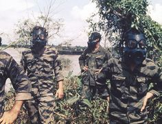 US Navy SEAL team members in the Mekong Delta, January 1969. (AP Photo/U.S. Navy) ~ Vietnam War