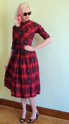 Times a'wastin' dress