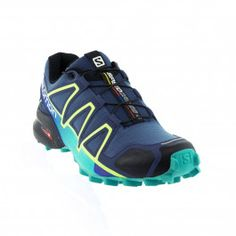 Salomon - Speedcross 4 - Slate Blue/Spa Blue/Fresh Green