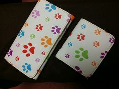 Cute paw print wallets BN $10 FOR BOTH Pic 1/2