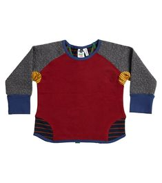 Marty Crew Jumper, Oishi-m Clothing for Kids, Autumn 2019, www.oishi-m.com