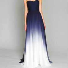 Gorgeous ombre dress
