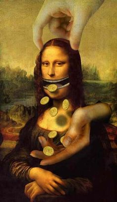 Parody of the Mona Lisa Johannes Vermeer, Le Sourire De Mona Lisa, La Madone, Mona Lisa Parody, Mona Lisa Smile, John Singer Sargent, Many Faces, Art Moderne, Photoshop Design