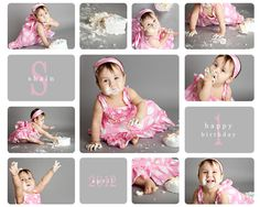 cake smash photography for girls - Google Search