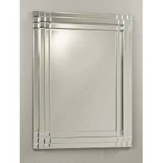 Beveled glass mirror that can be hung portrait or landscape. City Mirrors, Hall Mirrors, Over The Door Mirror, Mirror Door, Beveled Mirror, Beveled Glass, Mirror Unit, Overmantle Mirror, French Mirror