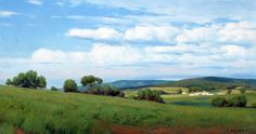 Close to the Edge, 30x17 oil on canvas.