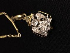 Gold Masonic Jewelry  Antique Masonic Diamond by EstateJewelryMama