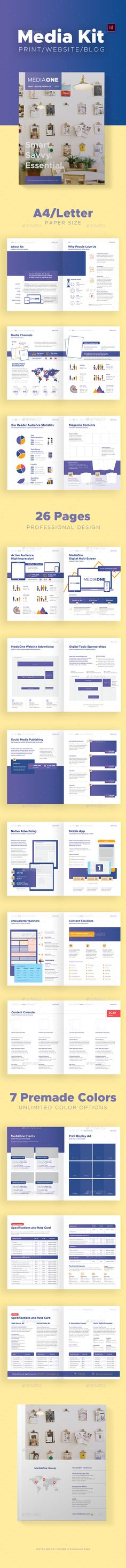 Print and Digital Media Kit Template