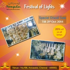 Deepawali Celebrations Come to Life with Poompuhar's 'Festival of Lights' sale