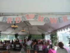 A bridal shower at Country Gardens