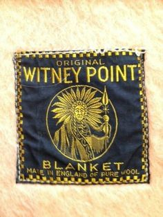 Original Whitney Point Pure Wool Blanket Gold Color   eBay