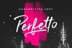 Perfetto Brush Font - Script