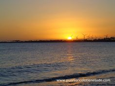 Puerto Rico lo tiene todo: Hermosa puesta del sol desde Salinas