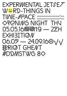 (via RIOT_EXPJESTSET_A51-846x1200.jpg (846×1200)) · Dark Side of Typography