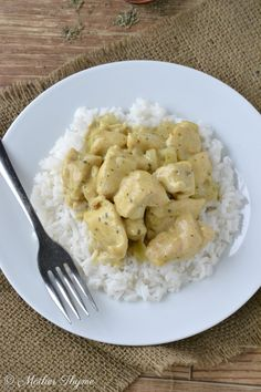 Coconut Chicken--totally easy peasy & only need to serve with rice & veggies