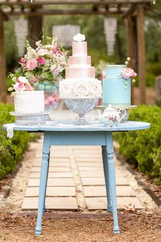 Whimsical Garden Wedding Inspiration Shoot | Bumby Photography