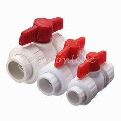 Plastic MDPE PPR Stop Tap Valve for Water Pipe Fitting 20mm - 32mm