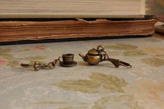 Tea Cup and Tea Pot Earrings by EricaDaley on Etsy, $10.00  LOVE IT!