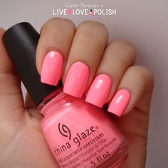 Live Love Polish: China Glaze Shocking Pink