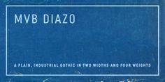 MVB Diazo (50% discount, from 29,50€)   https://fontsdiscounts.com/mvb-diazo-50-discount-2950e?utm_content=buffer5dfda&utm_medium=social&utm_source=pinterest.com&utm_campaign=buffer