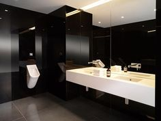 Public Bathroom Mirror commercial restroom trends: what are the latest styles in