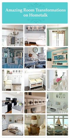 24 amazing room transformations on Hometalk! http://www.hometalk.com/b/148129/great-before-and-after-room-projects