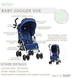 Baby Jogger Vue lightweight stroller review